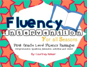 First Grade Fluency Intervention Bundle Preview-1